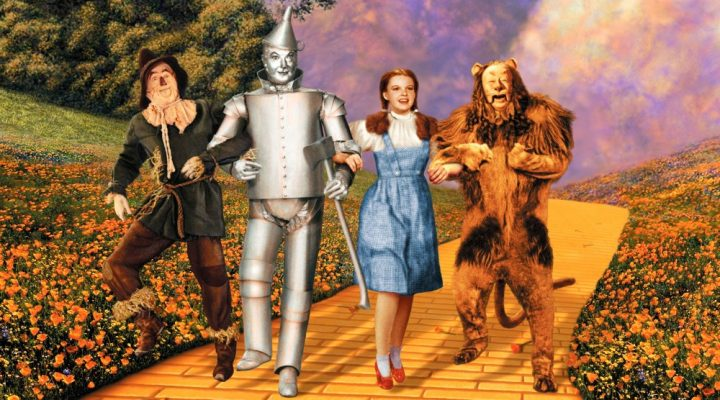 4 characters from wizard of oz